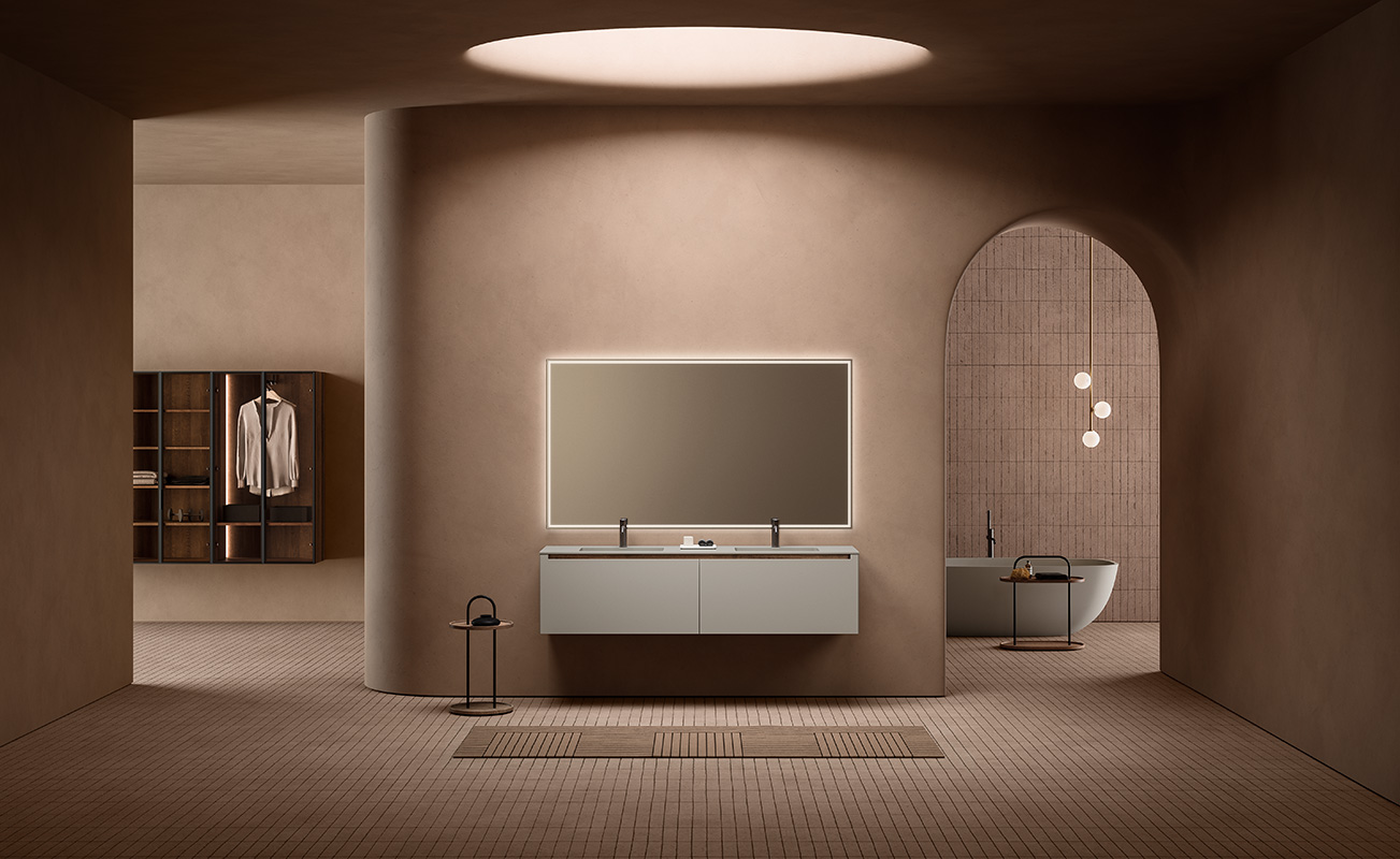 Ambience with Strato H unit grey monocolor