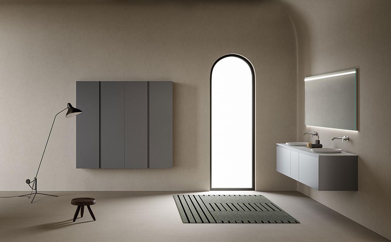 Strato Lacquer WallMounted Cabinet