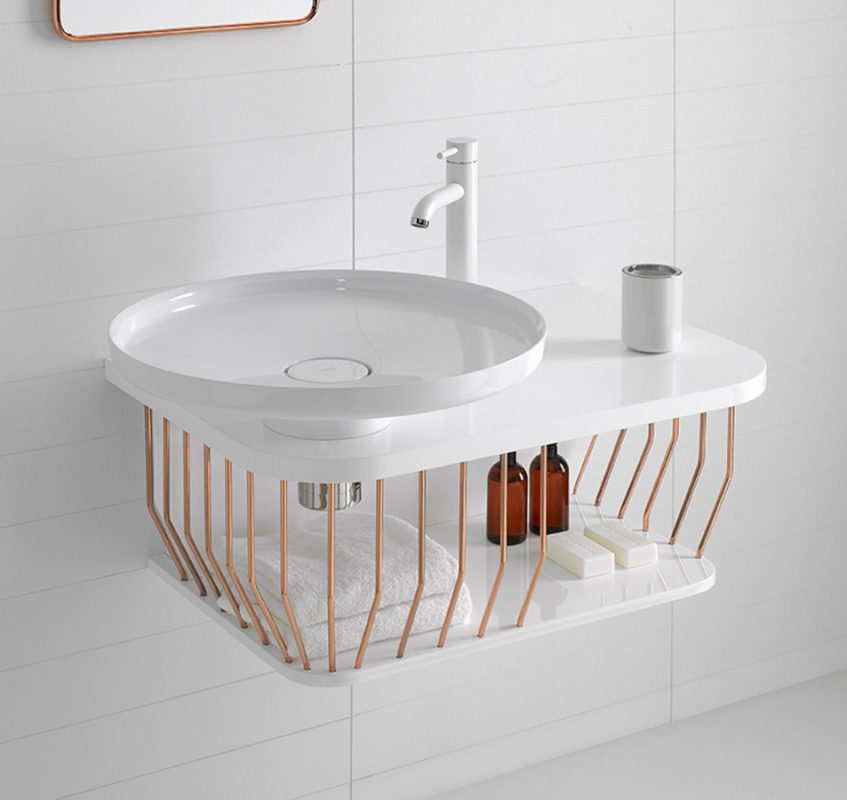 Bowl Topsolid Top Mounted Washbasin
