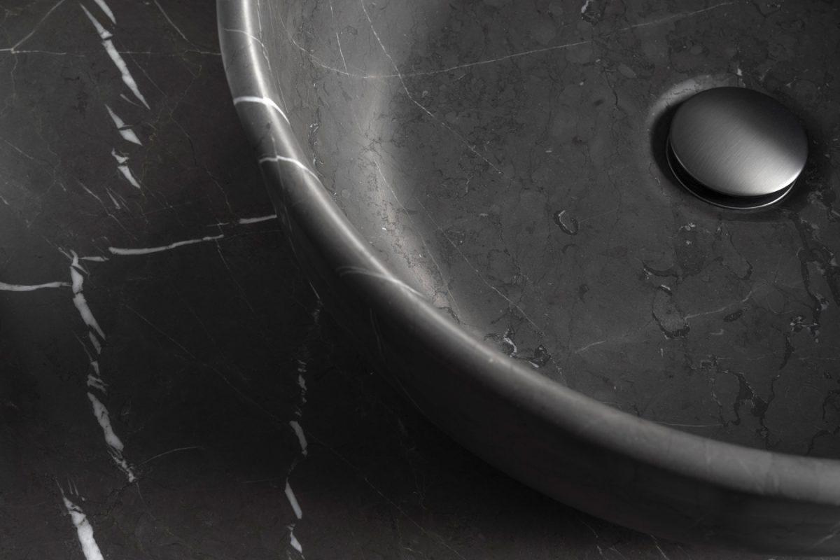 Prime Pietra Grey Marble TopMounted Washbasin