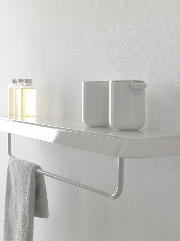 Fluent Matt Lacquer Wall Shelf Accessories