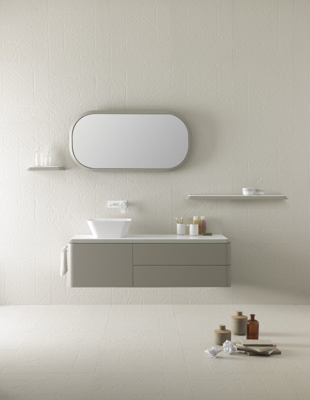 Fluent Mirror Wall Mounted Mirror