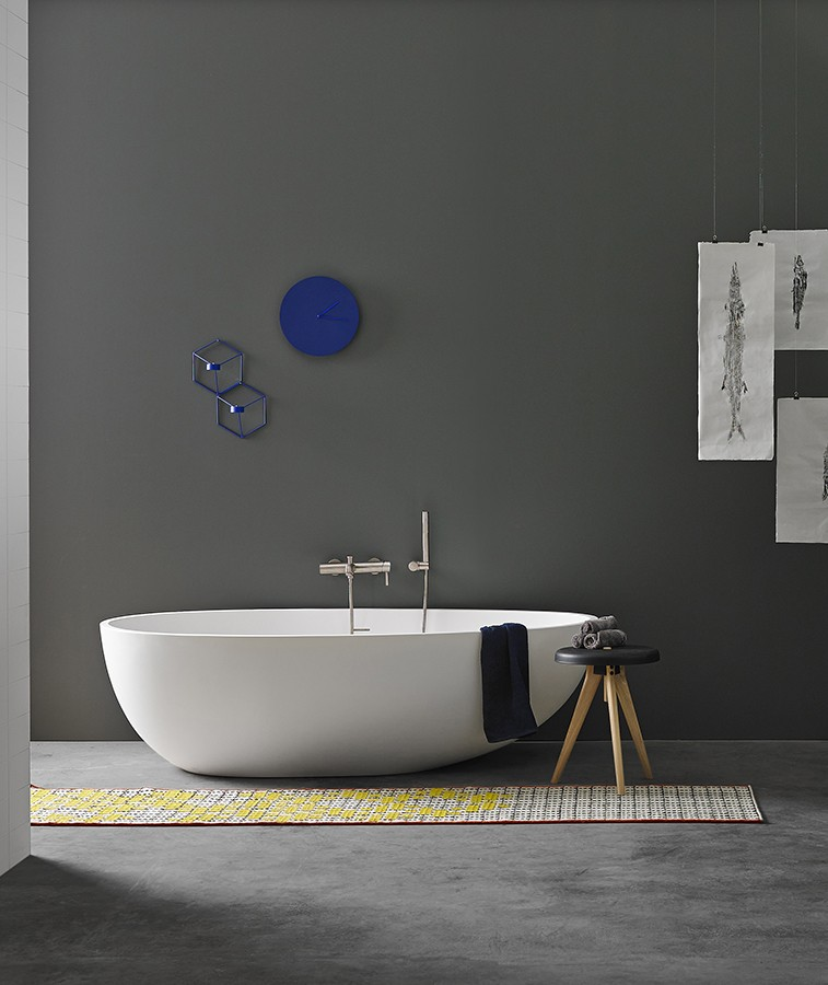 Gout Solidsurface Freestanding Bathtub