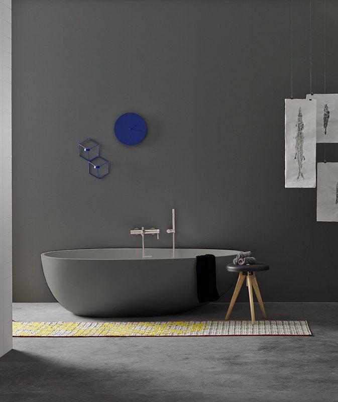 Gout green UHS colour coating freestanding bathtub