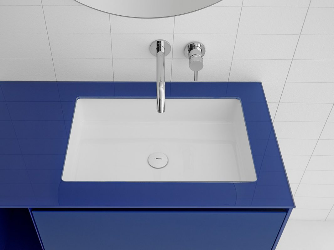 Glaze Topsolid Under Mounted Washbasin
