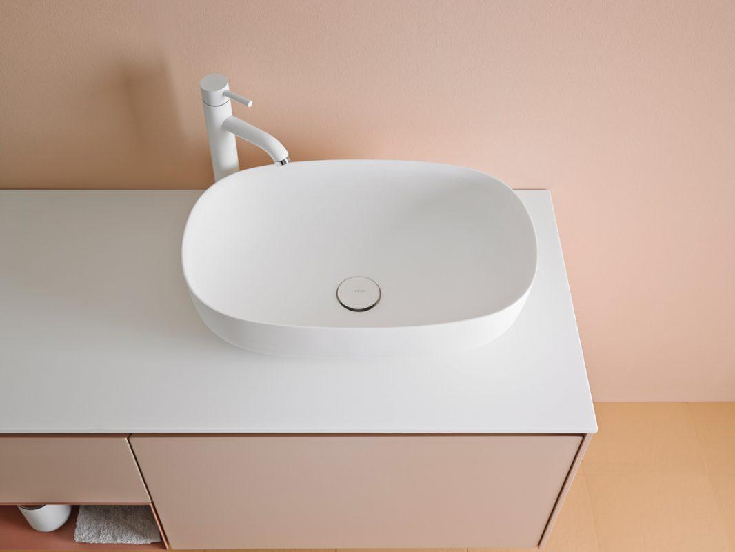 Ovalo Corian Top Mounted Washbasin