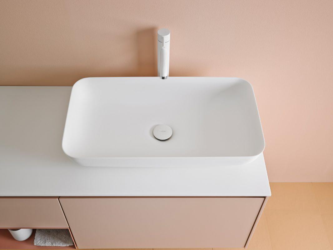Quadro Corian Top Mounted Washbasin