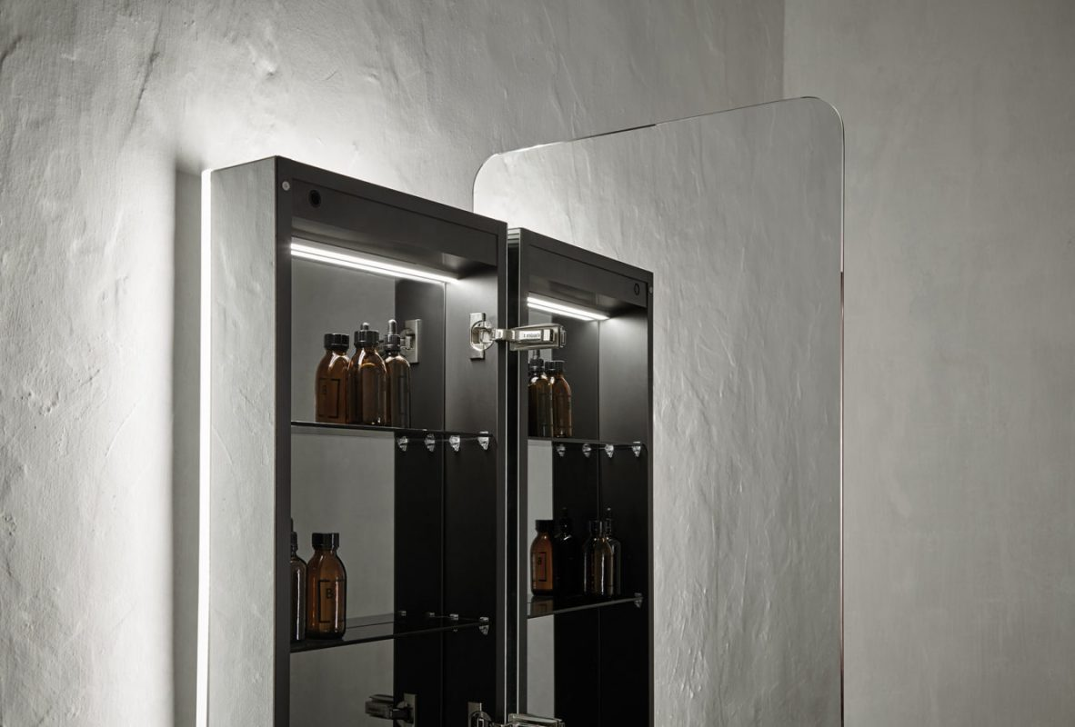 Origin Mirror Wall Mounted Cabinet Unit