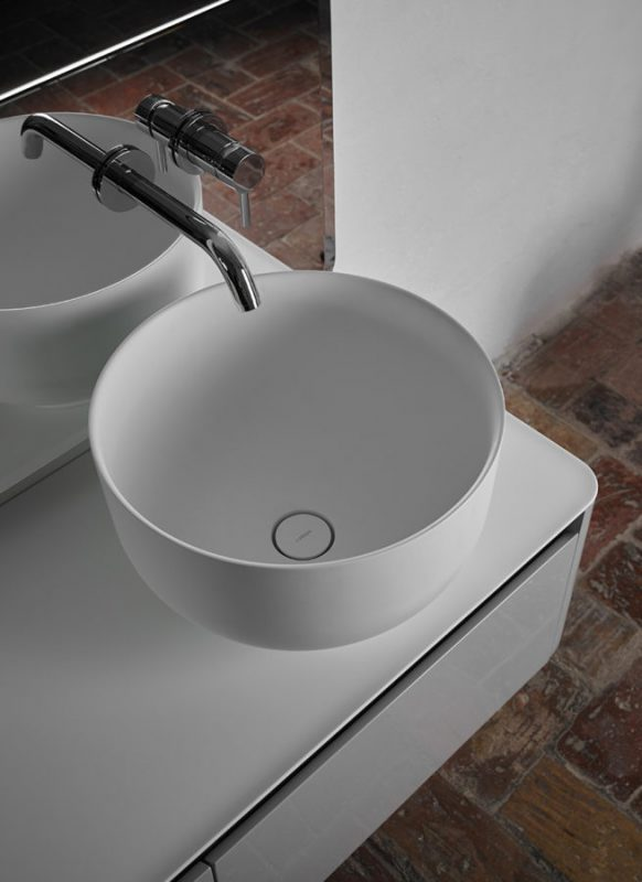 Origin Topsolid Top Mounted Washbasin