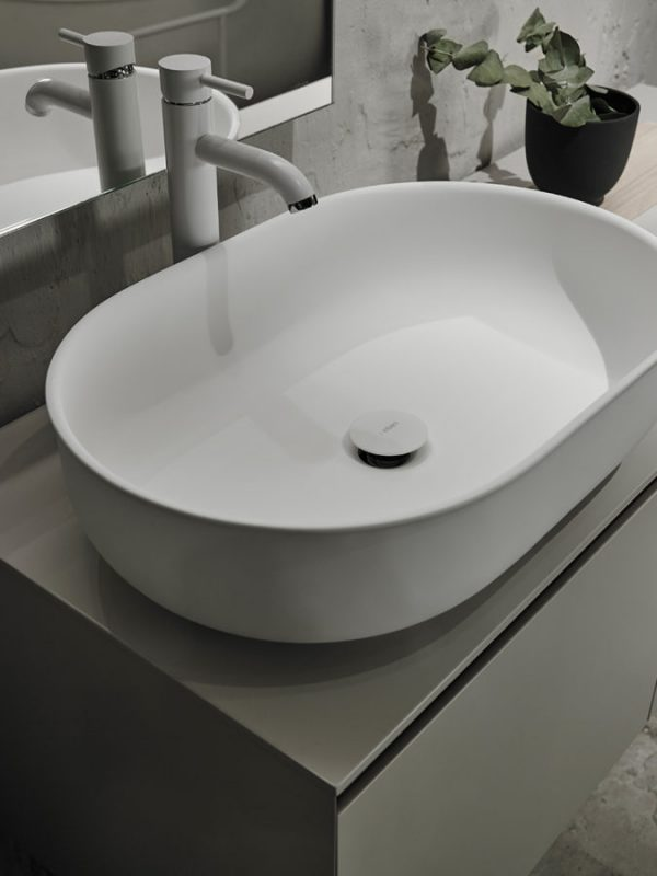 Prime Solidsurface Top Mounted Washabsin
