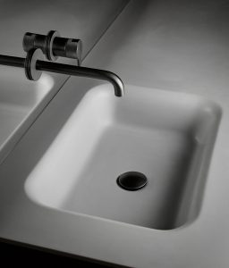 Float Cementsolid Integrated Washbasin Top