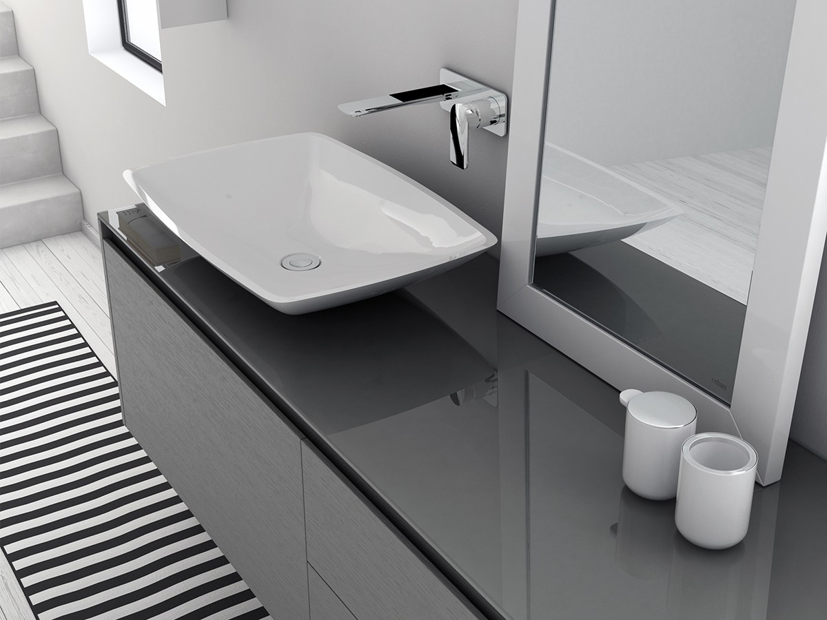 LA450 LA451 Topsolid Top Mounted Washbasin