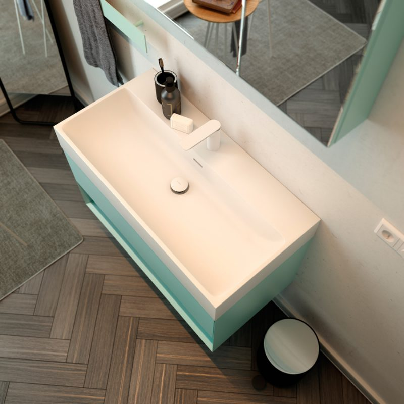 Labo Topsolid Top Mounted Washbasin