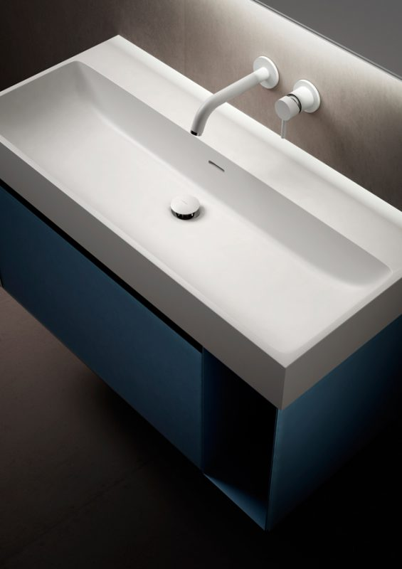 Labo Topsolid TopMounted Washbasin