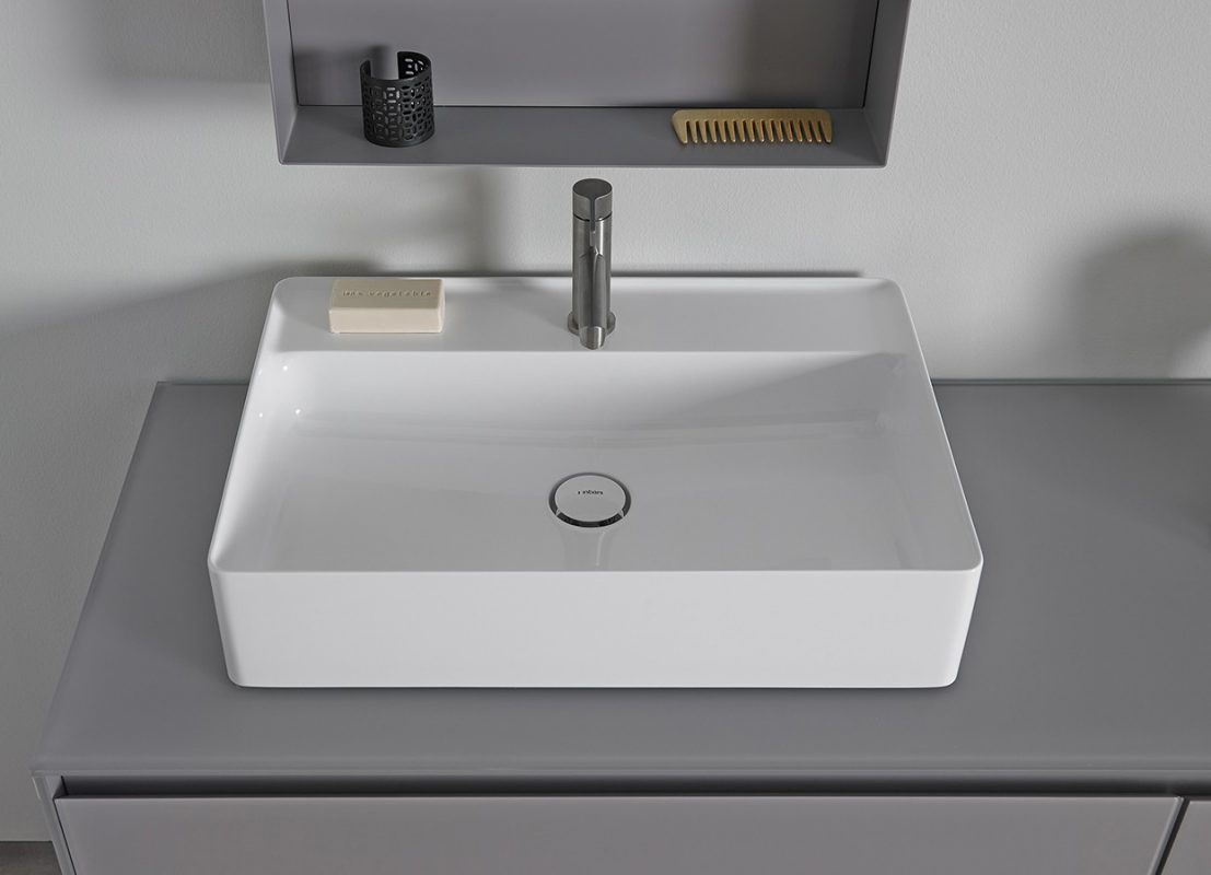 Nest Topsolid Top Mounted Washbasin