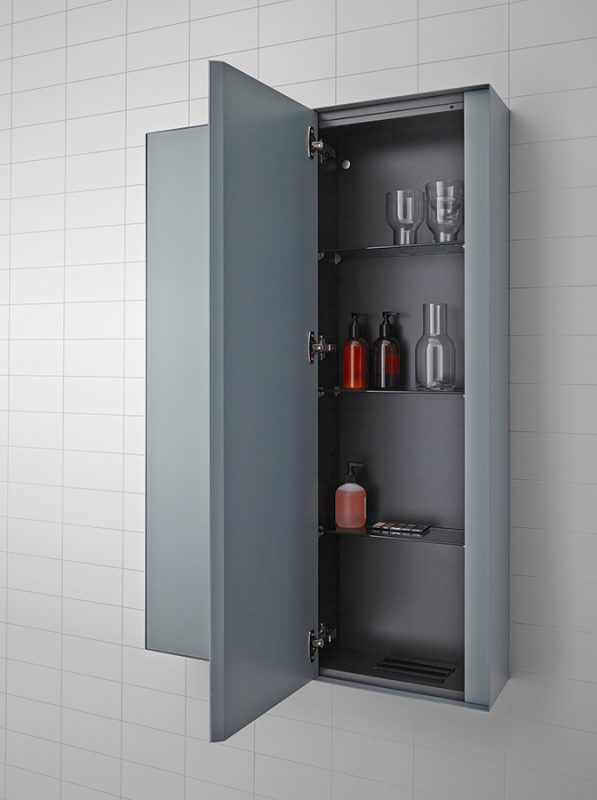 Strato Lacquer Wall Mounted Cabinet