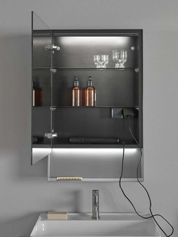 Strato Mirror Wall Mounted Cabinet