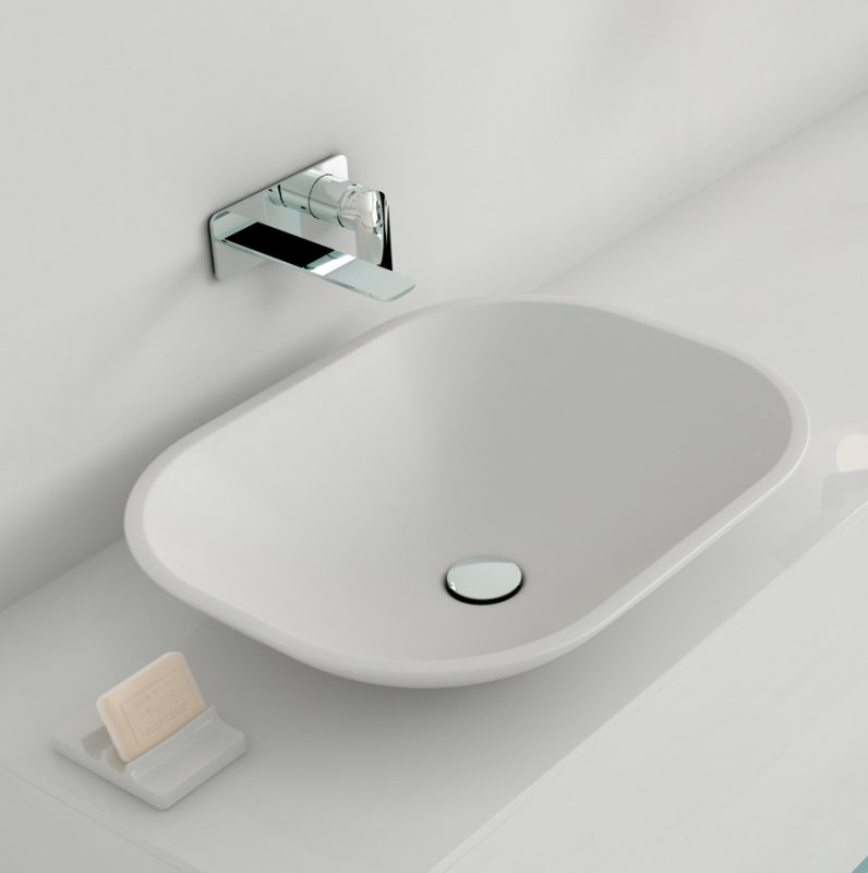 UO Solidsurface Top mounted Washbasin