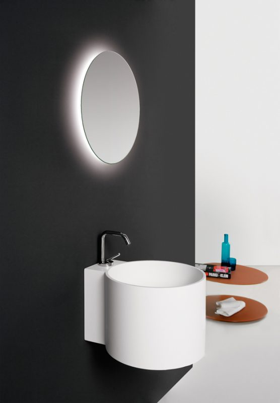 Tambo Topsolid Wall Mounted Washbasin