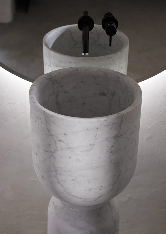 Inbani Carrara Marble Finish