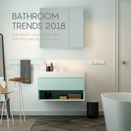 Bathroom trends 2018 - Inbani