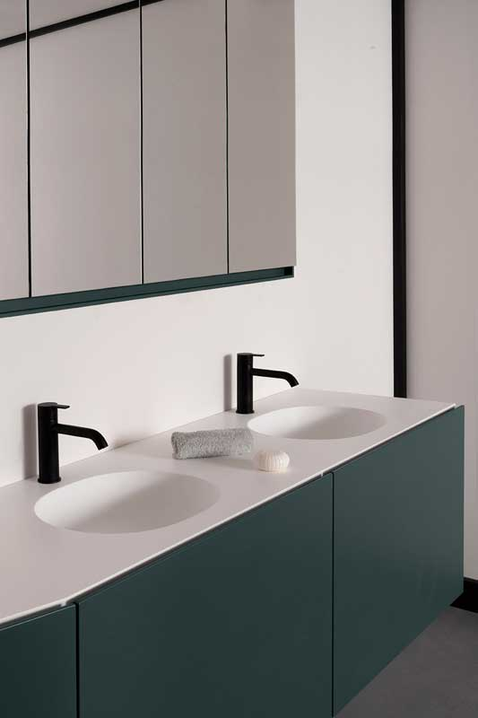 Forma collection ambient. Units, taps and mirrors