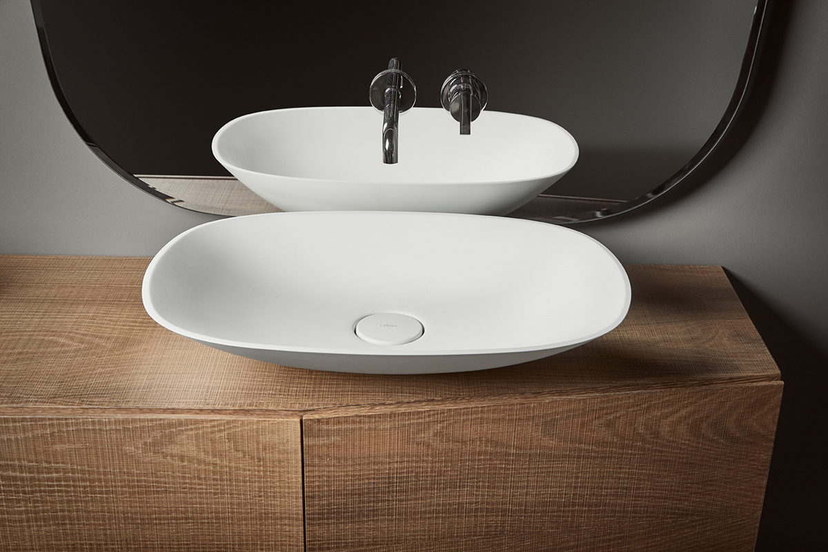 Forma Topsolid Top Mounted Washbasin