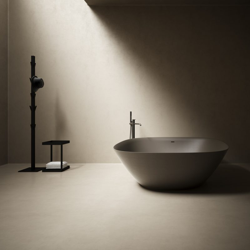 Forma Topsolid Brown UHS colour coating Bathtub