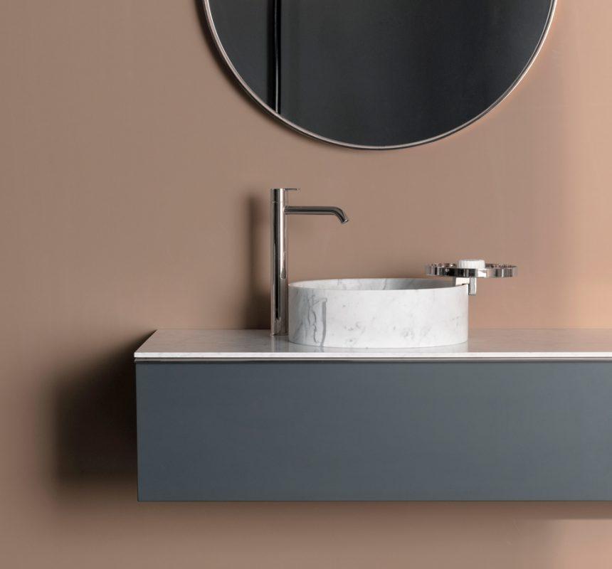 Giro Marble Top Mounted Washbasin