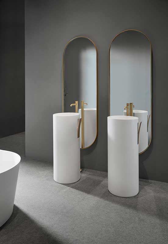 Giro Solidsurface Freestanding Washbasin