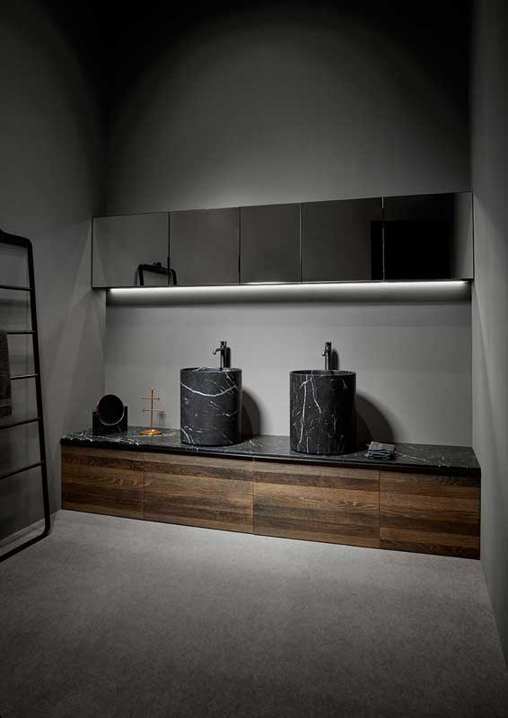 Strato Mirror Wall Mounted Cabinet Unit