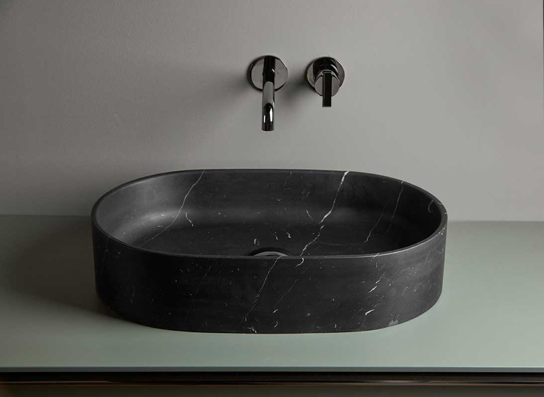 Giro Marble Top Mounted Washbasin