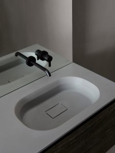 Cube Cementsolid Integrated Washbasin Top