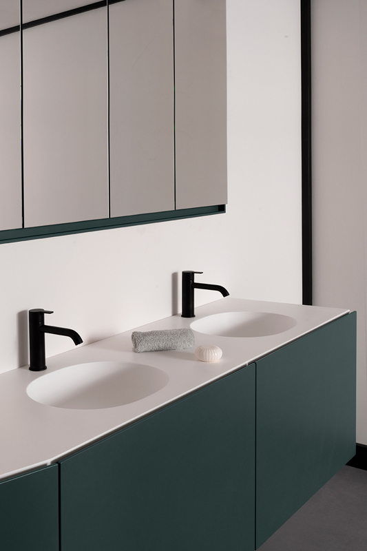 Giro Solidsurface Integrated Washbasin Worktop