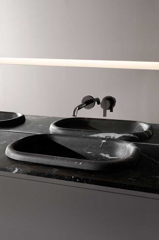 UpdoMarquina Marble Semi-Inset Washbasin Top