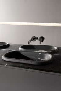 Updown Marble Semi-Inset Washbasin Worktops