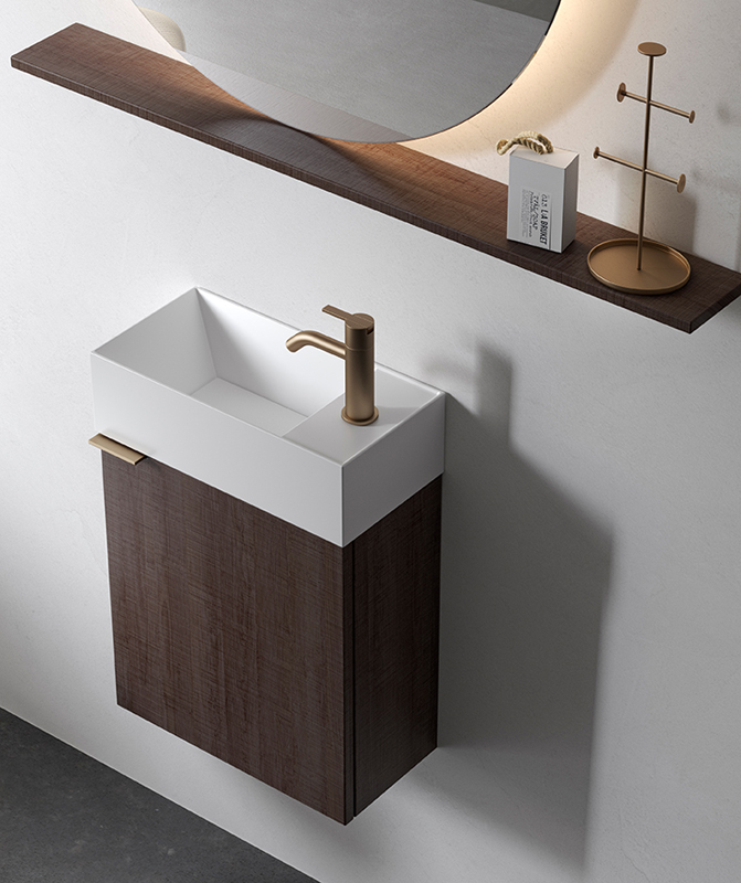 Facett Solidsurface Top Mounted Washbasin