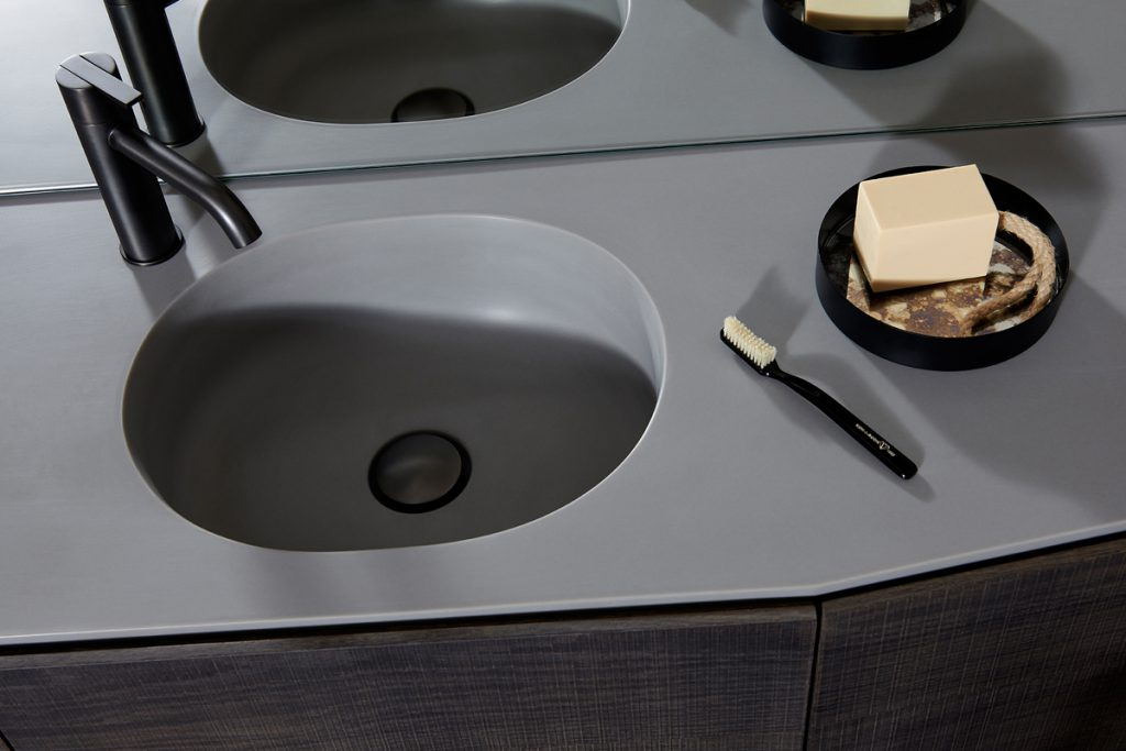 Giro Cementsolid Integrated Washbasin Worktop