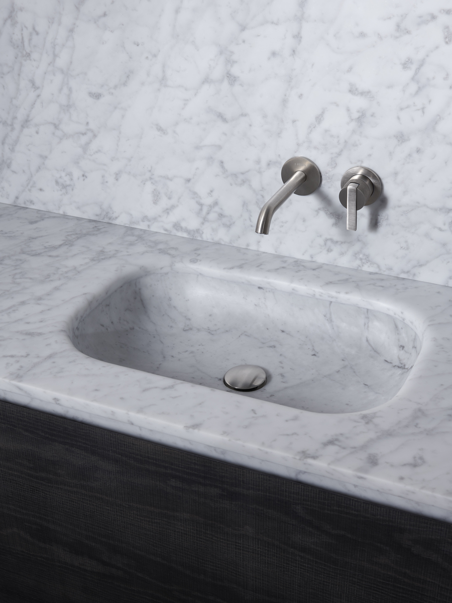 Senio Marble Washbasin Integrated Top