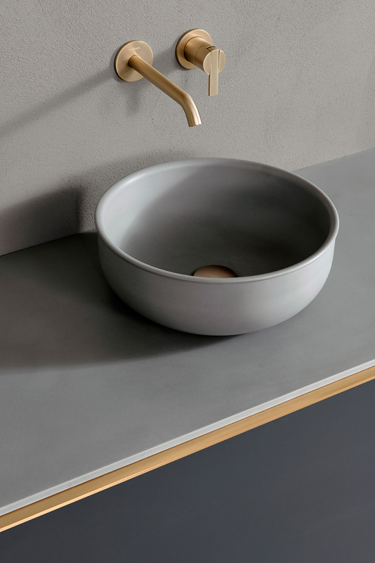 Prime Cemento Top Mounted Washbasin