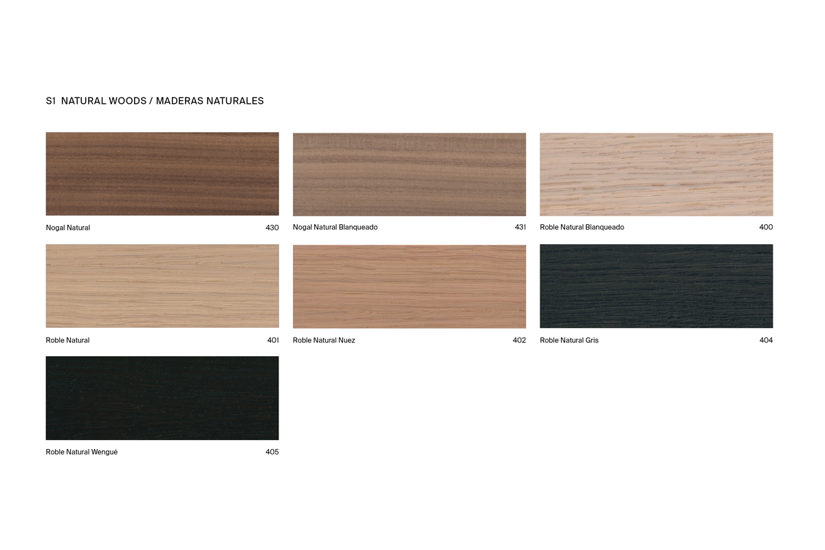 Inbani Sawn Oak Finish Chart