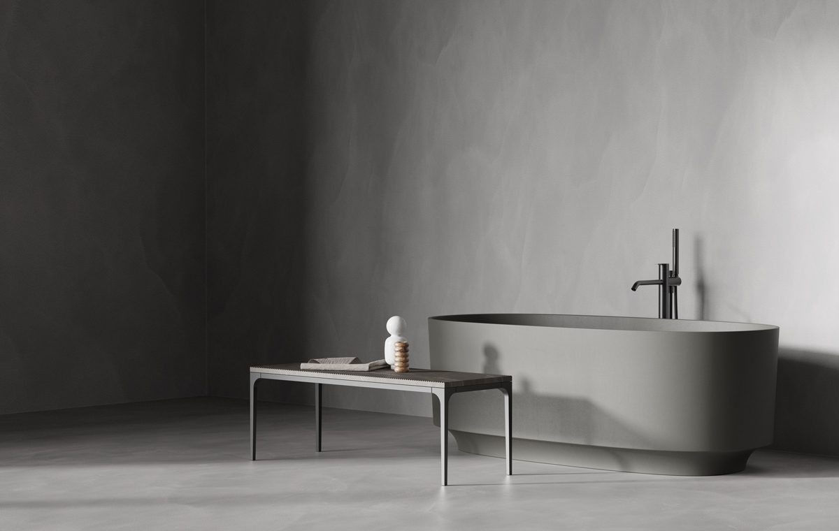 UHS colour coating bathtub from Arc colletion