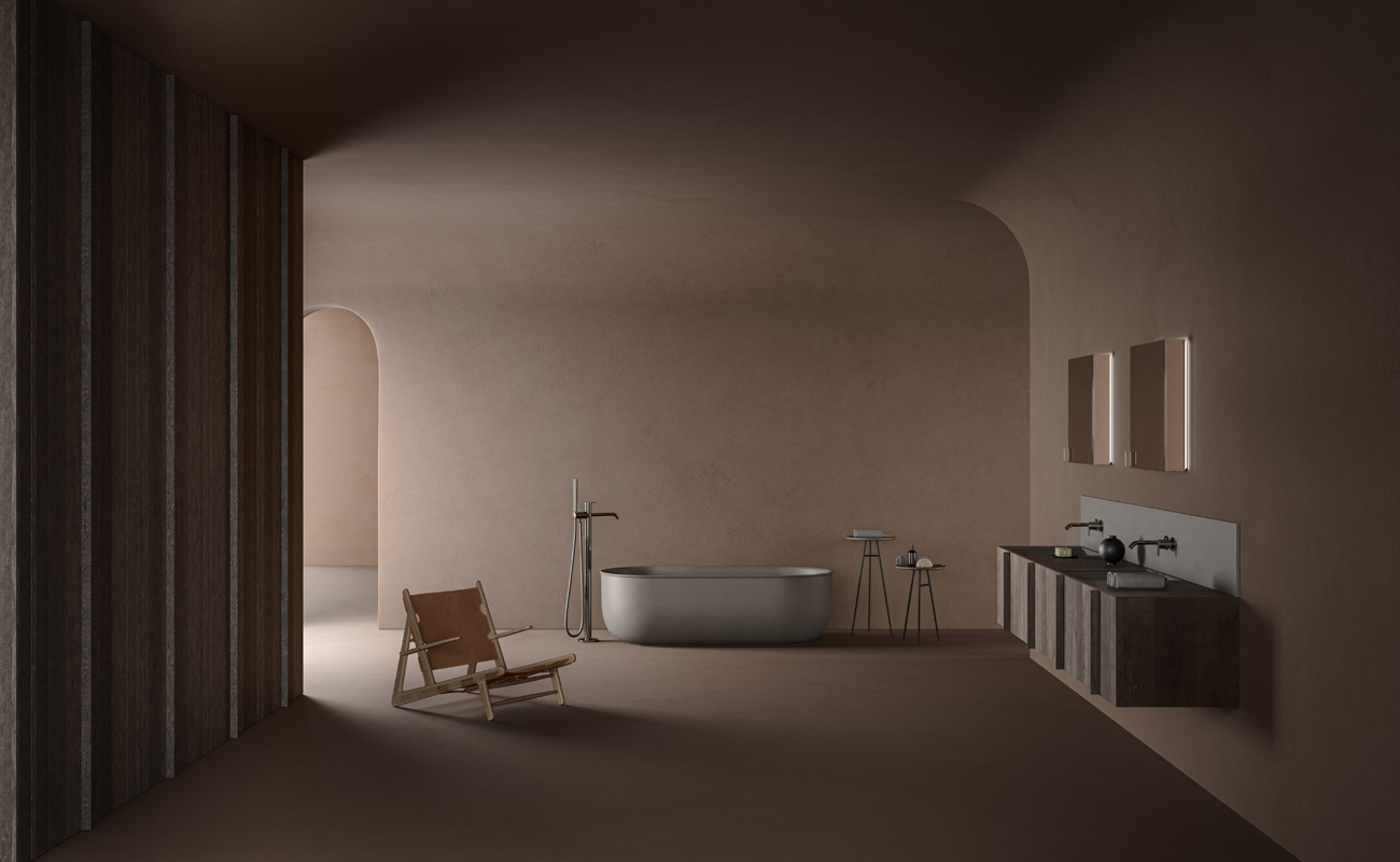 Grey uhs colour coating freestanding bathtub prime collection