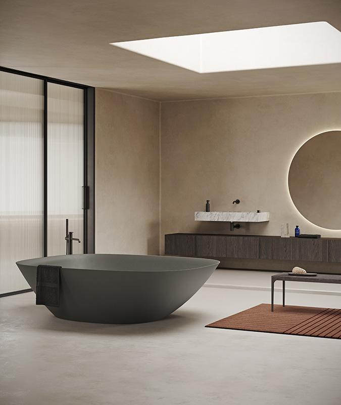 Forma Topsolid Green UHS colour coating Bathtub