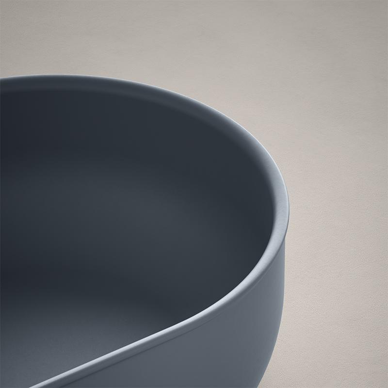 USH colour coating washbasin detail