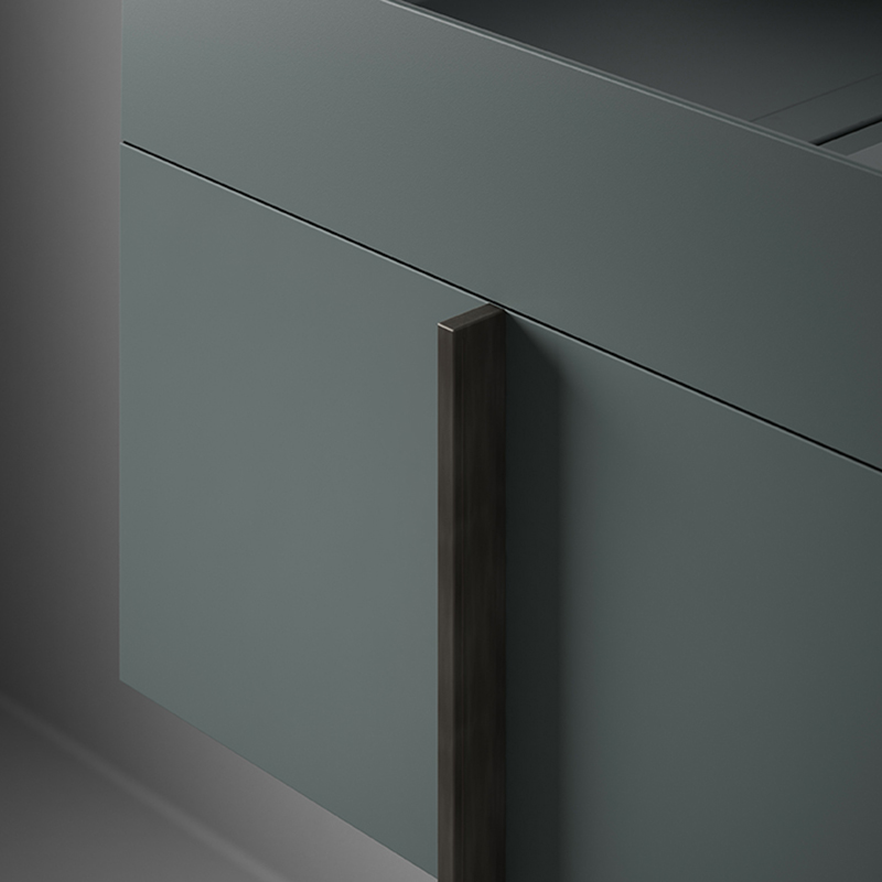blue USH colour coating washbasin from paral collection