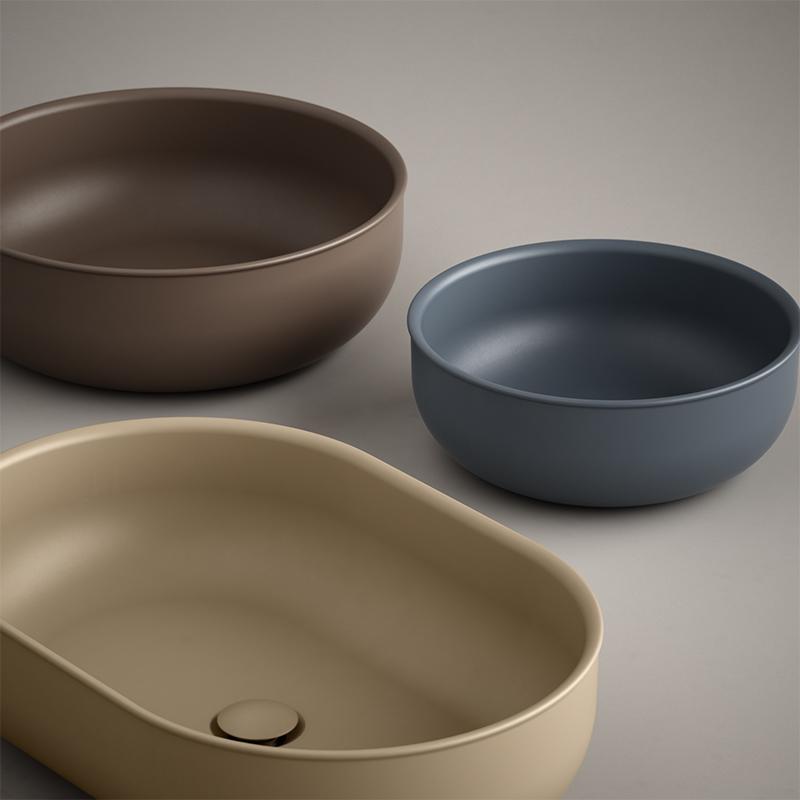 USH colour coating washbasins
