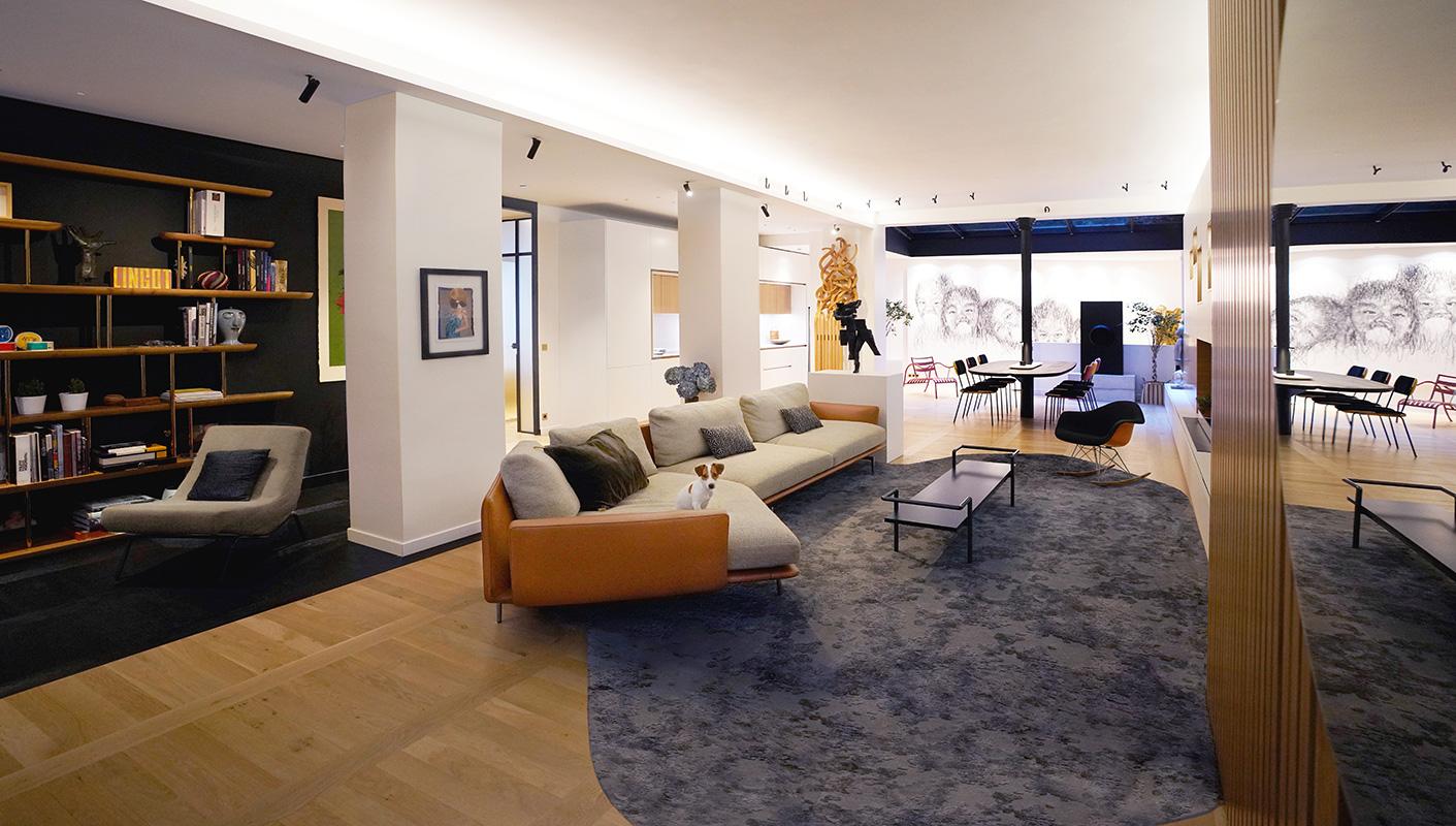 Imagen interior salon Paris 7th